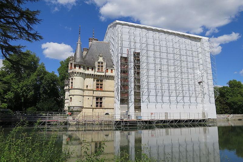 restauration château
